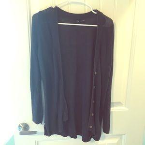 GAP Sweaters - Navy Gap Button Up Cardigan